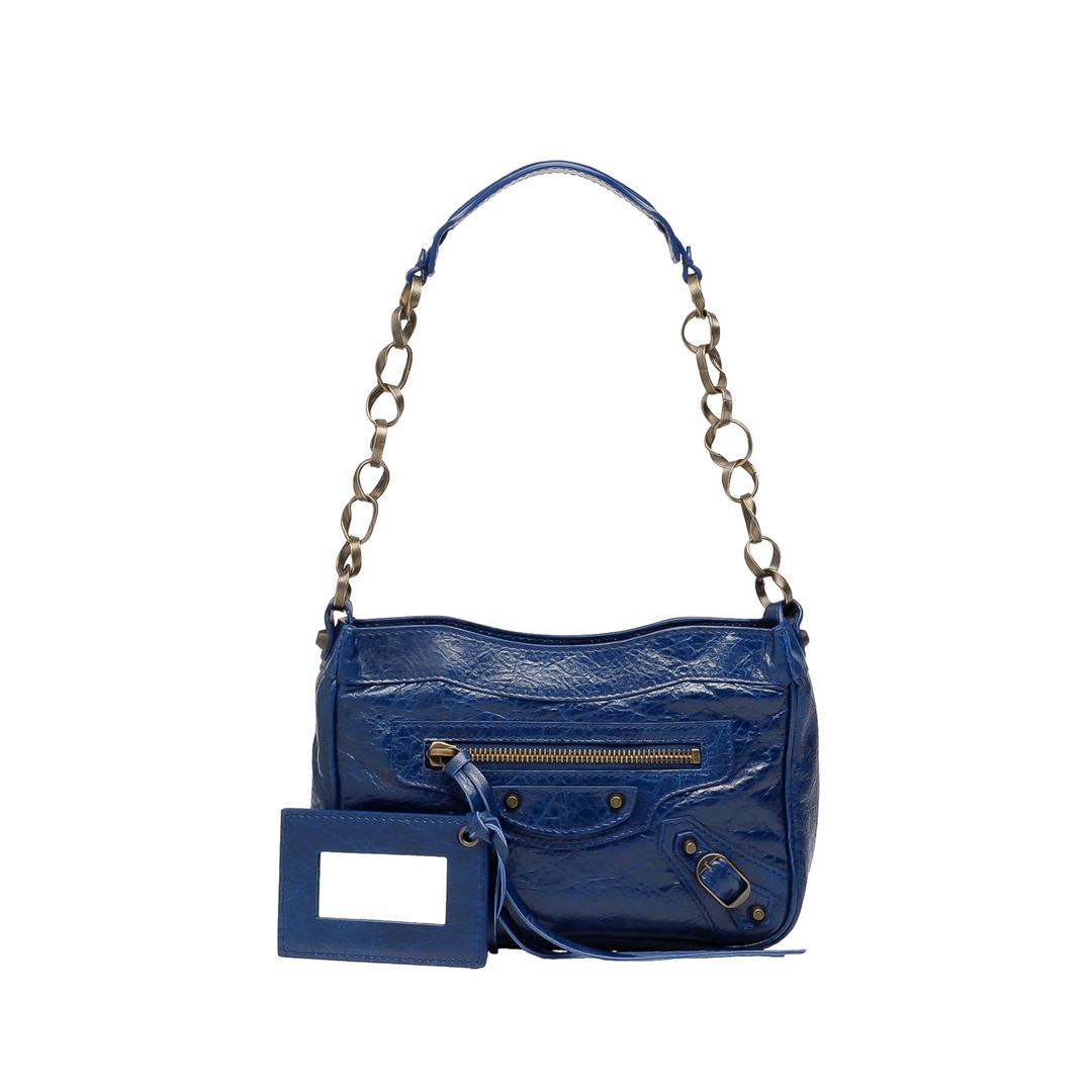 BALENCIAGA Balenciaga Classic New Shoulder Shape Shoulder bag D f