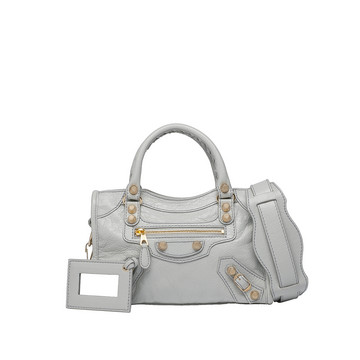 BALENCIAGA Giant Mini City Handtasche D Giant 12 Mini City Gold f