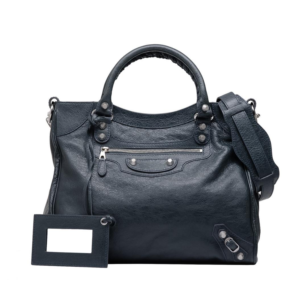 BALENCIAGA Balenciaga Giant 12 Velo Silber Messenger Bag D f