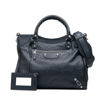 BALENCIAGA Messenger Bag D Balenciaga Giant 12 Velo Silber f