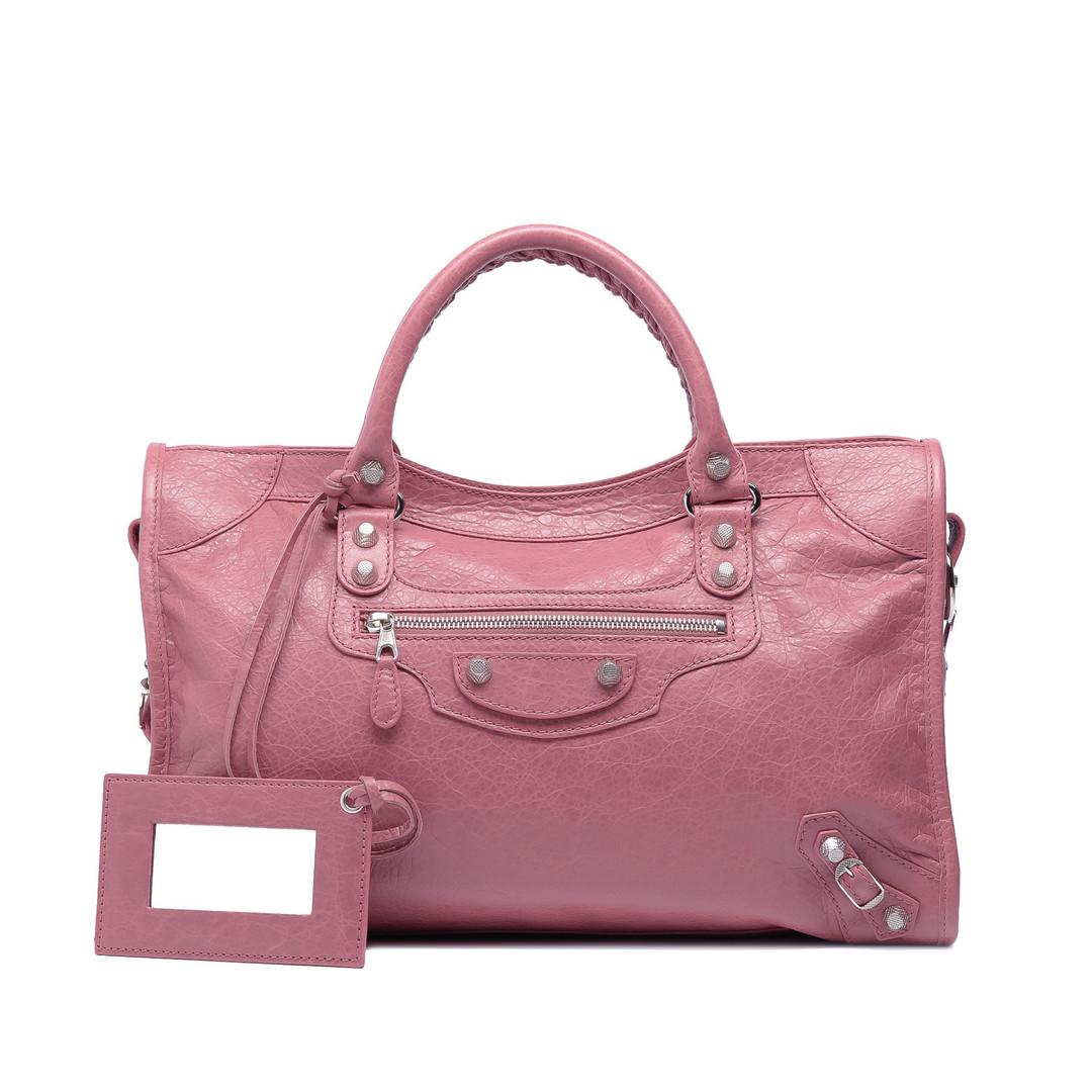 BALENCIAGA Giant 12 Silver City Giant City Handbags D f