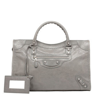 BALENCIAGA Giant City Handbags D Giant 12 Silver City f
