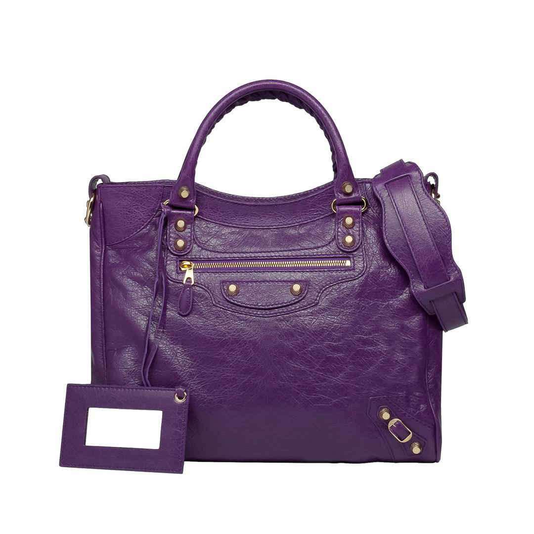 BALENCIAGA Balenciaga Giant 12 Velo Gold Messenger Bag D f