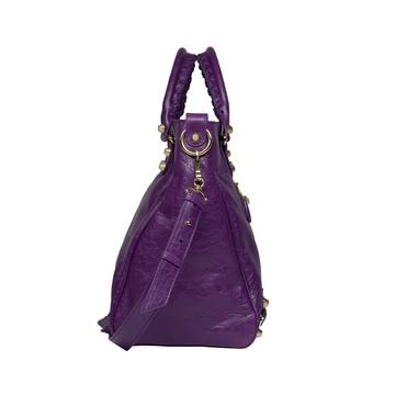 BALENCIAGA Messenger Bag D Balenciaga Giant 12 Velo Gold f