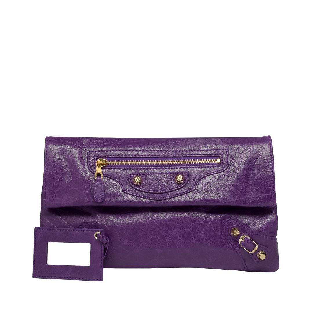 BALENCIAGA Balenciaga Giant 12 Envelope Oro Clutch D f