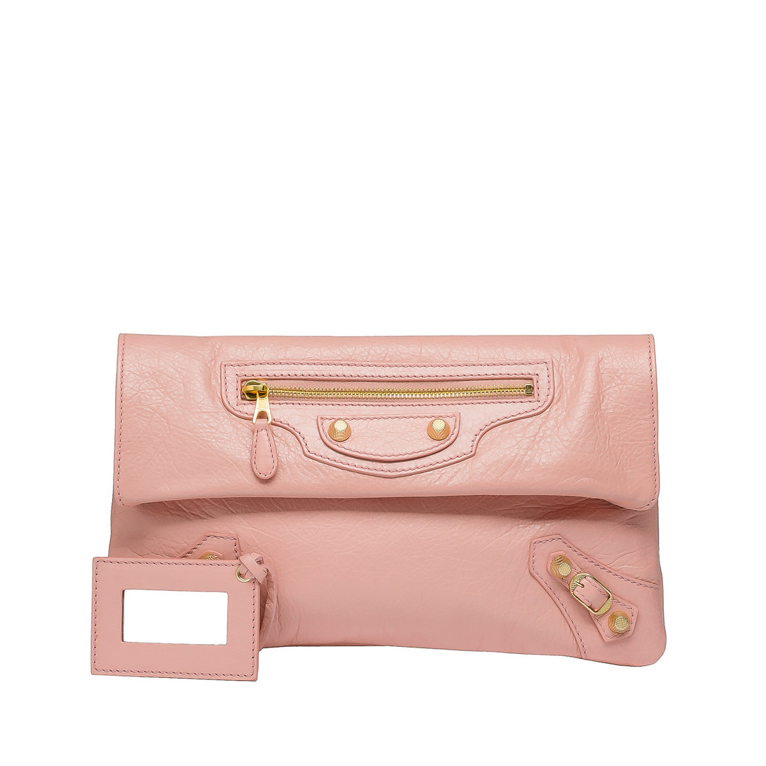 BALENCIAGA Balenciaga Giant 12 Envelope Gold Clutch D f