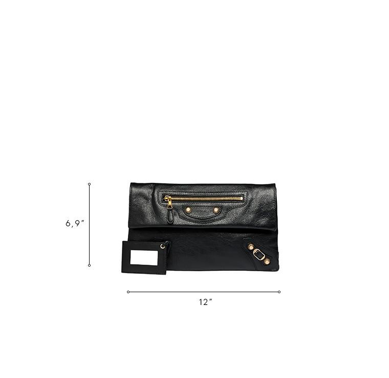BALENCIAGA Clutch D Balenciaga Giant 12 Gold Envelope n