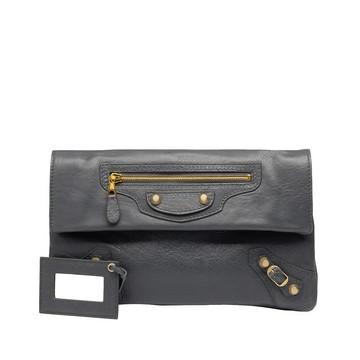 BALENCIAGA Clutch D Balenciaga Giant 12 Envelope Gold f