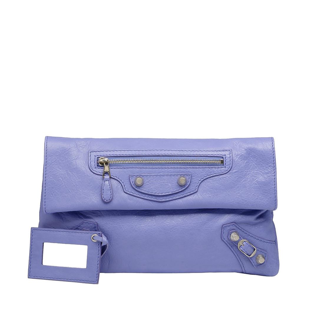 BALENCIAGA Balenciaga Giant 12 Silver Envelope Clutch D f