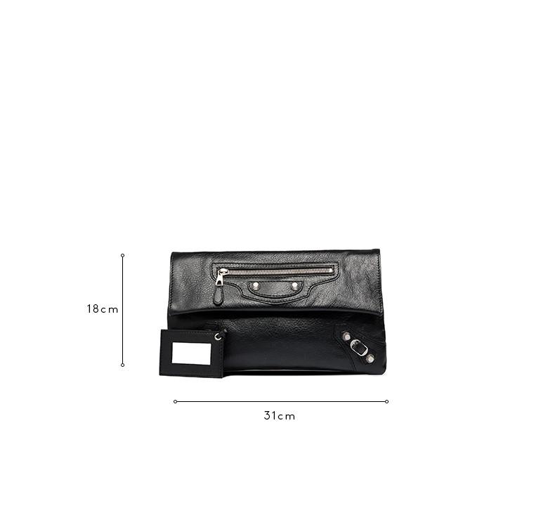 BALENCIAGA Clutch D Balenciaga Giant 12 Envelope Plata c