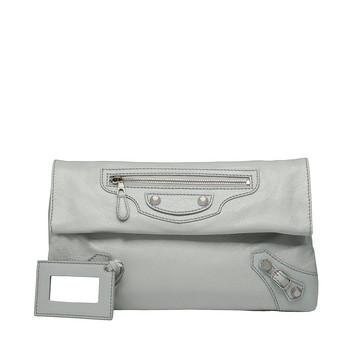 BALENCIAGA Clutch D Balenciaga Giant 12 Silver Envelope f