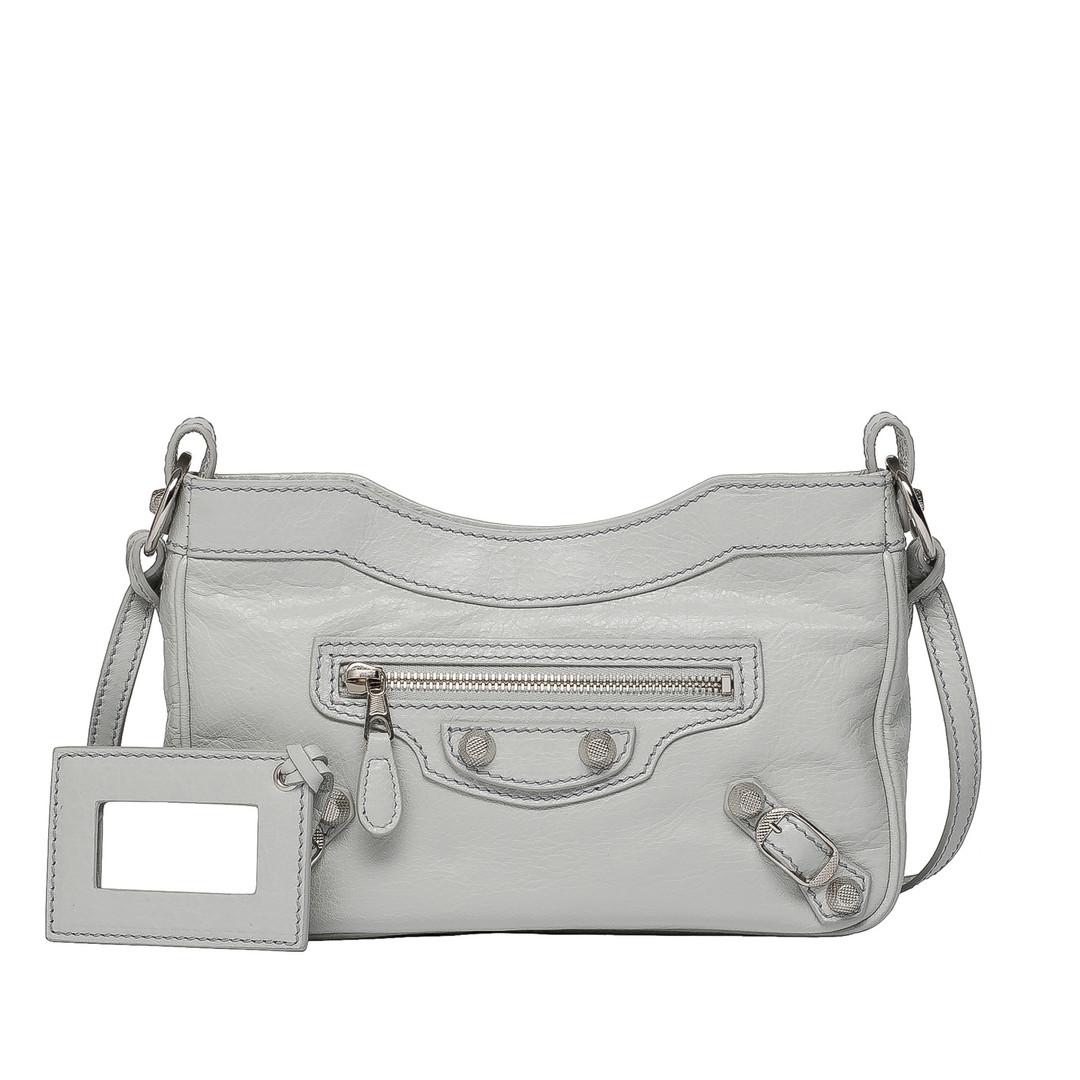 BALENCIAGA Balenciaga Giant 12 Hip Silber Messenger Bag D f