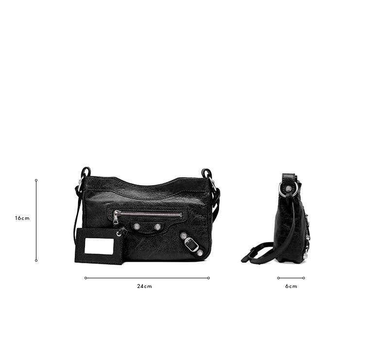 BALENCIAGA Messenger Bag D Balenciaga Giant 12 Hip Silber c