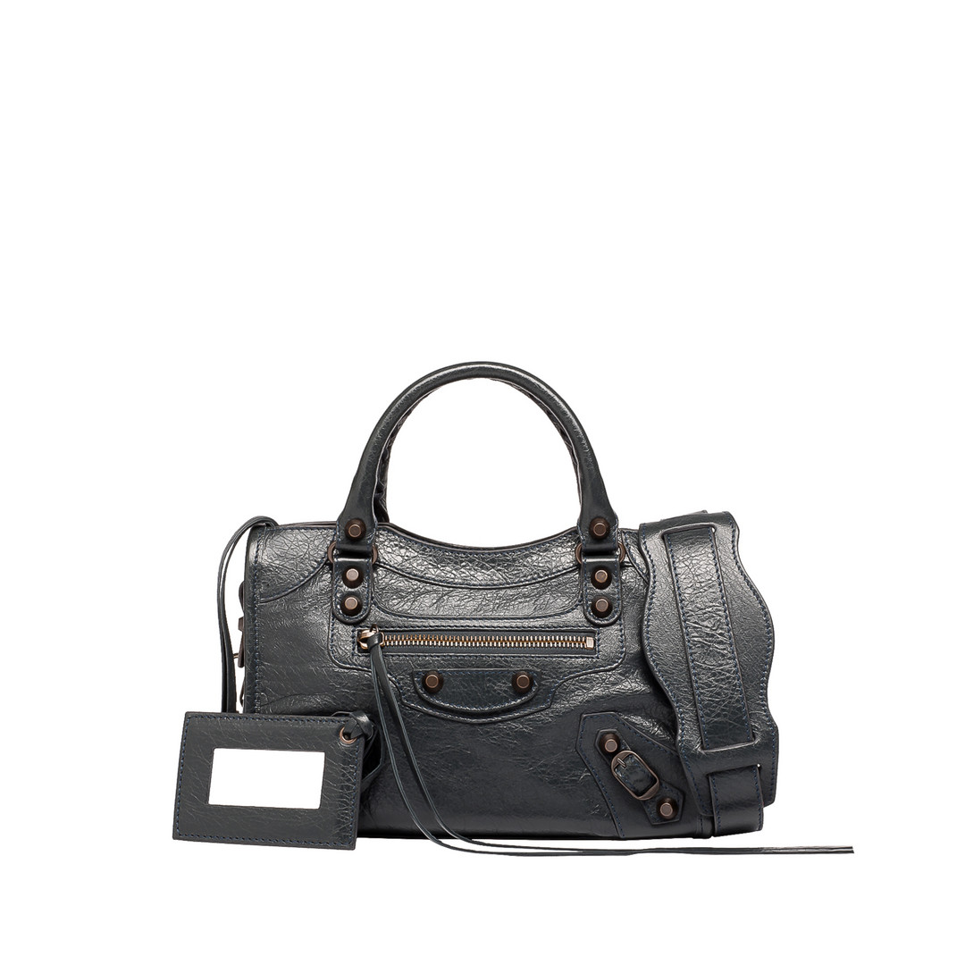 BALENCIAGA Classic Mini City Borsa a Mano Classic Mini City D f