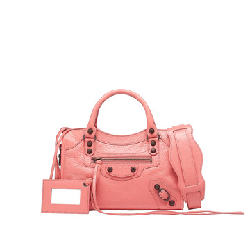 BALENCIAGA Classic Mini City Handbag D Classic Mini City f