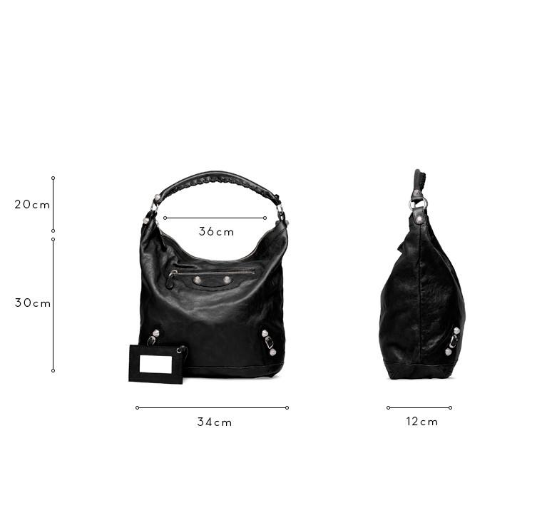 BALENCIAGA Schultertasche D Balenciaga Giant 12 Day Silber c
