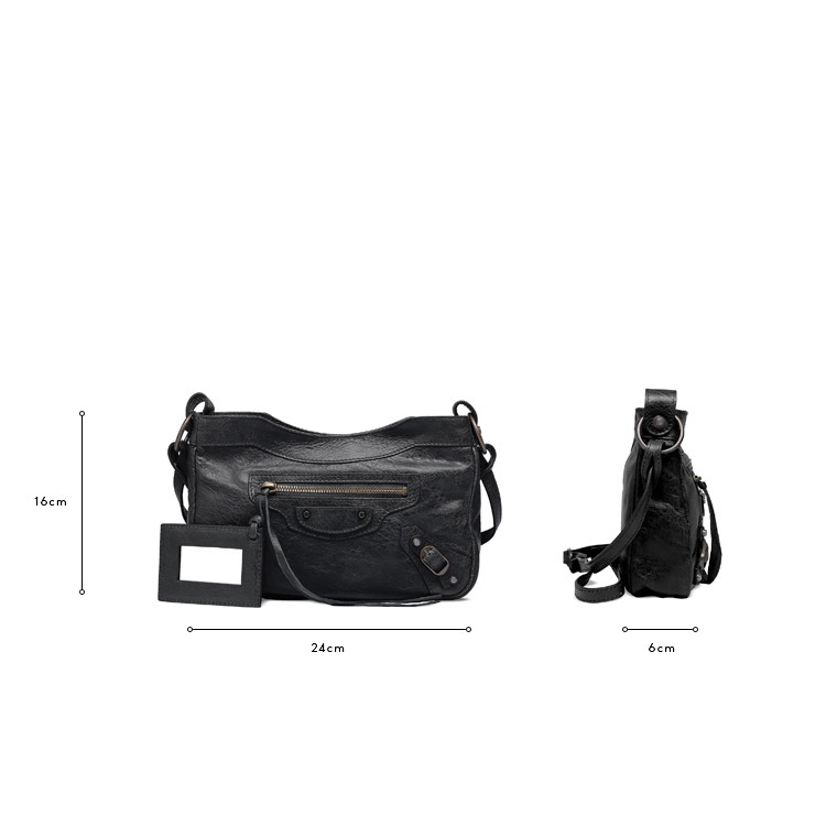 BALENCIAGA Messenger Bag D Balenciaga Classic Hip c