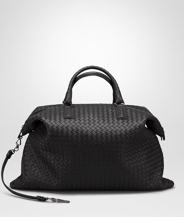 3a9d7f4115dd BOTTEGA VENETA NERO INTRECCIATO NAPPA MAXI CONVERTIBLE BAG Top Handle Bag       pickupInStoreShipping info