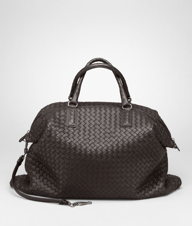 977008ea31 BOTTEGA VENETA Ebano Intrecciato Nappa Convertible Bag Top Handle Bag       pickupInStoreShipping info