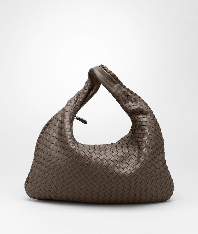 BOTTEGA VENETA Edoardo Intrecciato Nappa Veneta Shoulder or hobo bag D fp