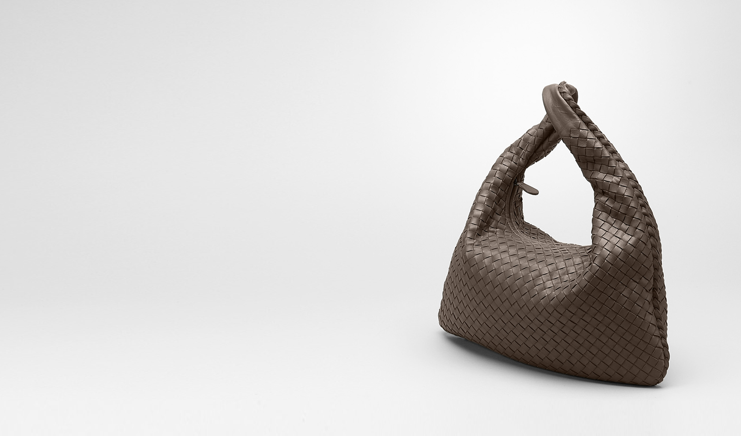 BOTTEGA VENETA Shoulder or hobo bag D Edoardo Intrecciato Nappa Veneta pl