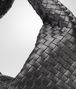 BOTTEGA VENETA Nero Intrecciato Nappa Large Veneta Shoulder or hobo bag D ep