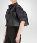BOTTEGA VENETA MEDIUM SHOULDER BAG IN NERO INTRECCIATO NAPPA Shoulder or hobo bag D ap