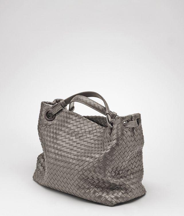 BOTTEGA VENETA Tasche aus Nappaleder Intrecciato Schultertasche D fp