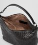 BOTTEGA VENETA SMALL SHOULDER BAG IN NERO INTRECCIATO NAPPA Shoulder or hobo bag Woman dp
