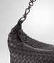 BOTTEGA VENETA SMALL SHOULDER BAG IN NERO INTRECCIATO NAPPA Shoulder or hobo bag Woman ep