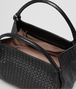 BOTTEGA VENETA PARACHUTE BAG IN NERO INTRECCIATO NAPPA Shoulder Bag Woman dp