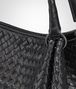BOTTEGA VENETA PARACHUTE BAG IN NERO INTRECCIATO NAPPA Shoulder Bag Woman ep