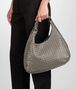 BOTTEGA VENETA Fume Intrecciato Nappa Campana Bag Shoulder or hobo bag D ap