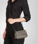 BOTTEGA VENETA Fume Intrecciato Nappa Messenger Mini Bag Crossbody bag D ap