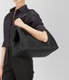 BOTTEGA VENETA GROSSE TOTE BAG AUS INTRECCIATO NAPPA IN NERO Shopper D lp