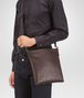BOTTEGA VENETA Ebano Intrecciato VN Cross Body Bag Messenger Bag U ap