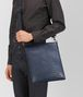 BOTTEGA VENETA LARGE MESSENGER BAG IN LIGHT TOURMALINE INTRECCIATO VN Messenger Bag Man ap