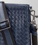 BOTTEGA VENETA LARGE MESSENGER BAG IN LIGHT TOURMALINE INTRECCIATO VN Messenger Bag Man ep