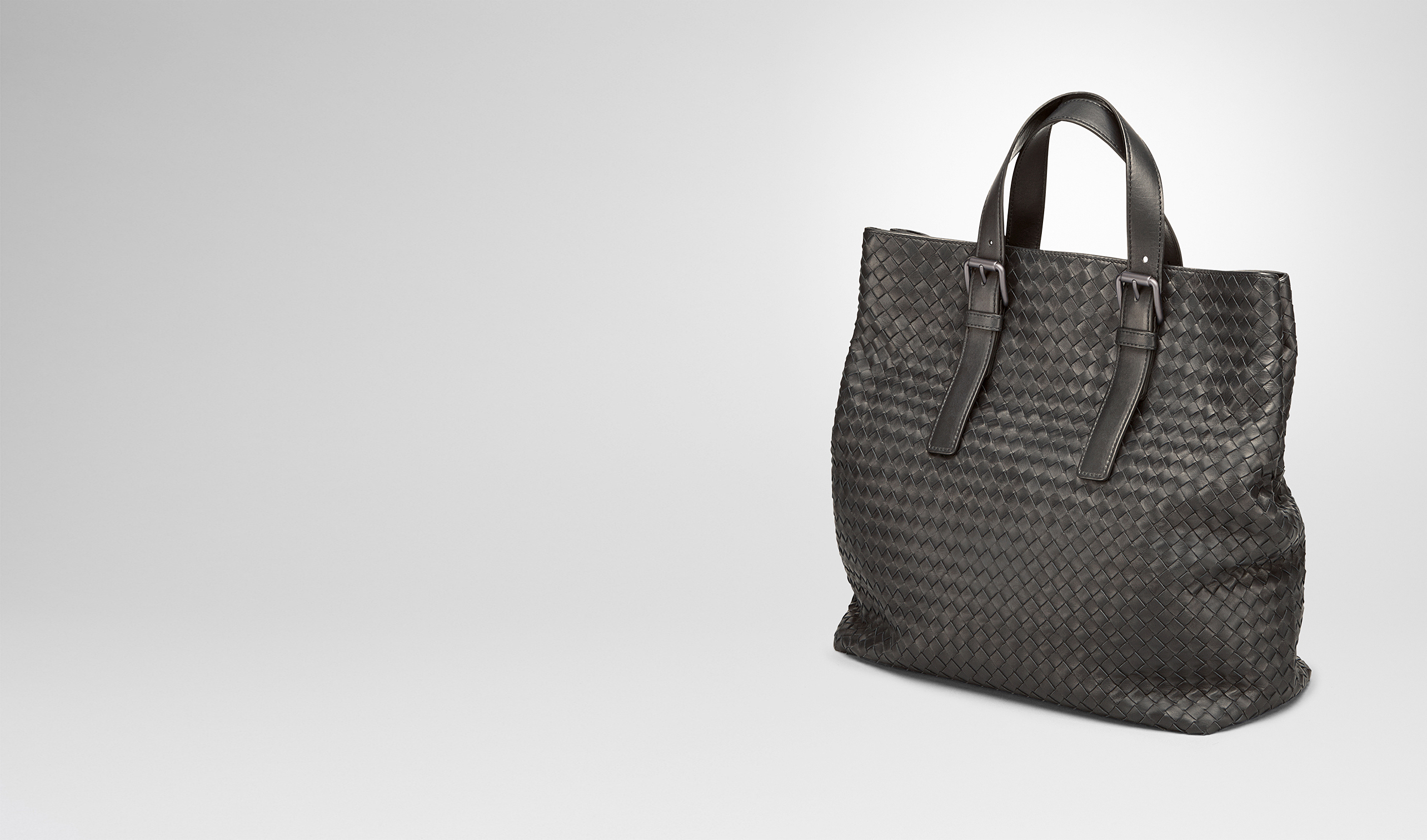 BOTTEGA VENETA Shopper U TOTE BAG AUS INTRECCIATO KALBSLEDER IN MORO pl