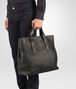 BOTTEGA VENETA TOTE BAG AUS INTRECCIATO KALBSLEDER IN MORO Shopper U ap