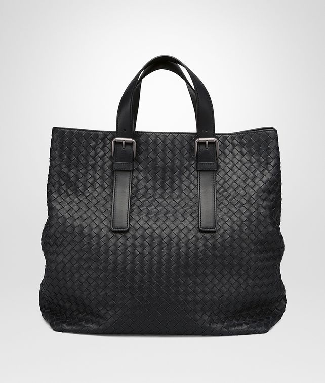 BOTTEGA VENETA TOTE BAG IN NERO INTRECCIATO CALF Tote Bag U fp