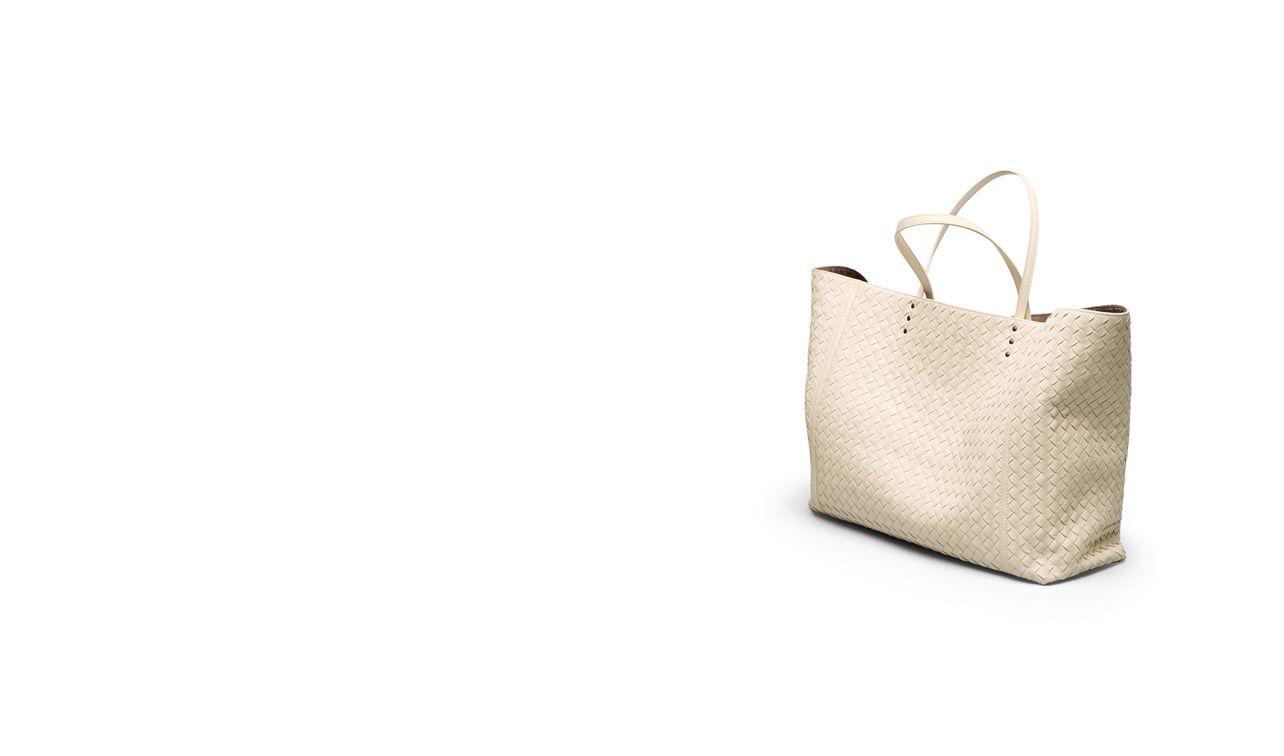 BOTTEGA VENETA Tote Bag D TOTE BAG IN ANTIQUE INTRECCIATO NAPPA pl