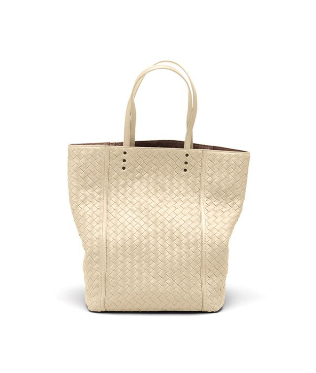 BOTTEGA VENETA TOTE BAG IN ANTIQUE INTRECCIATO NAPPA Tote Bag D fp