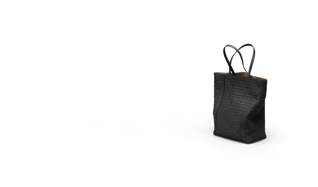 BOTTEGA VENETA Tote Bag D TOTE BAG IN NERO INTRECCIATO NAPPA pl