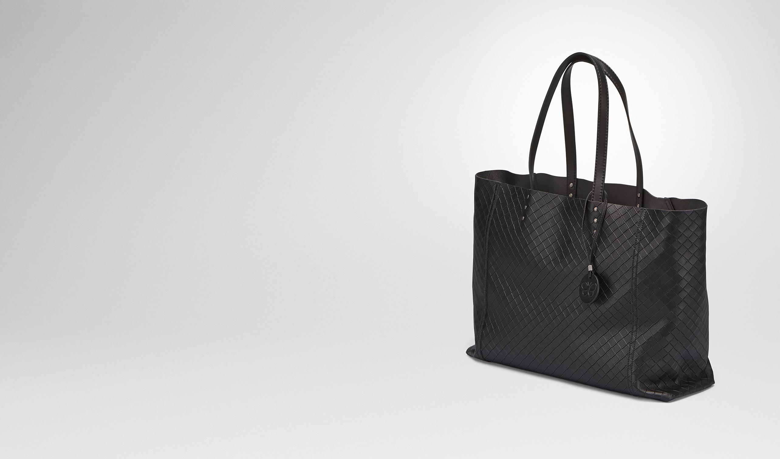 BOTTEGA VENETA Tote Bag D MEDIUM TOTE BAG IN NERO INTRECCIOMIRAGE pl