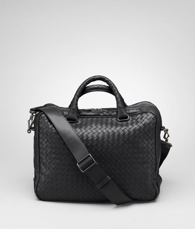 BOTTEGA VENETA Nero Intrecciato Light Calf Informale Bag Tote Bag U fp