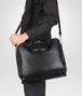 BOTTEGA VENETA Nero Intrecciato Light Calf Informale Bag Tote Bag U lp