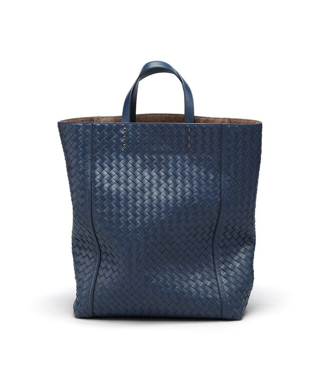 BOTTEGA VENETA TOTE BAG AUS INTRECCIATO VN IN CELESTE Shopper D fp