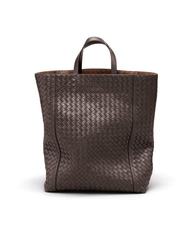 BOTTEGA VENETA TOTE BAG IN EBANO INTRECCIATO VN Tote Bag D fp