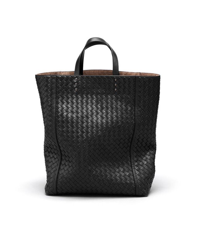 BOTTEGA VENETA TOTE BAG IN NERO INTRECCIATO VN Tote Bag D fp